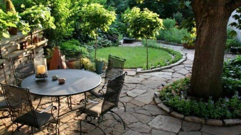 Ideas Tuscan Style Backyard Landscaping Japan