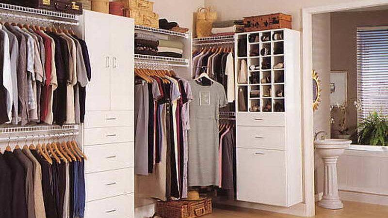 Ideas Walk Closet Organizing Systems