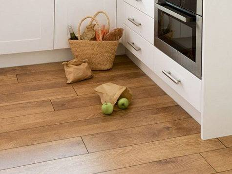 Ideas Wooden Kitchen Flooring Home Garden