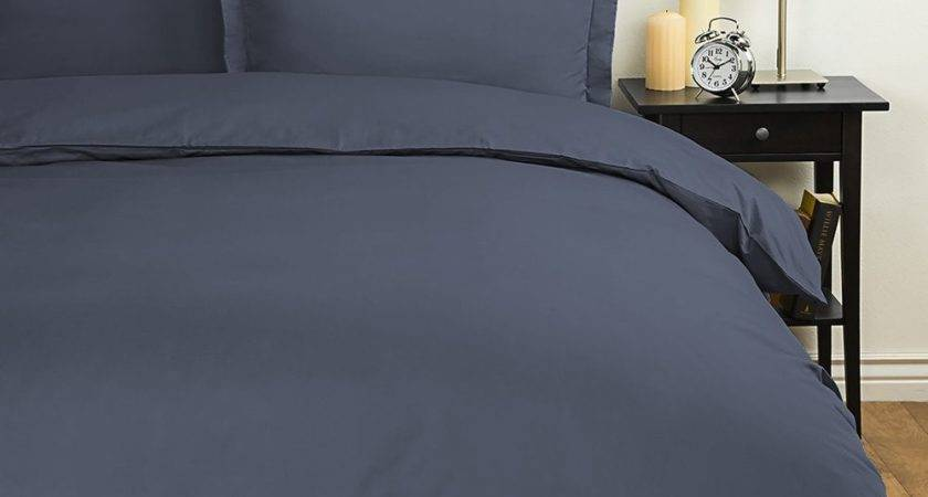Ienjoy Home Collection Navy Ultra Soft Duvet Cover Set