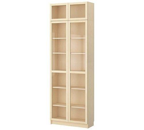 Ikea Billy Bookcases Glass Doors