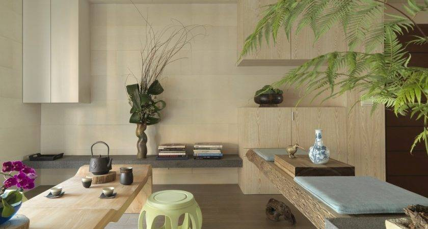 Impressive Modern Asian House Tae Interior Design