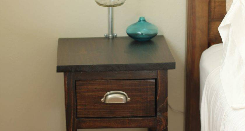 Impressive Small Nightstand Table Beautiful Furniture Home