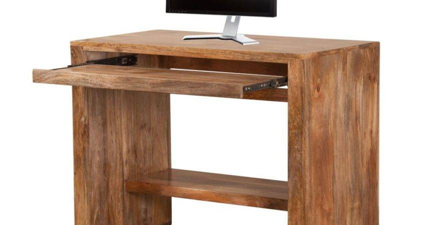 Incredible Sturdy Solid Wood Computer Desk Atzine