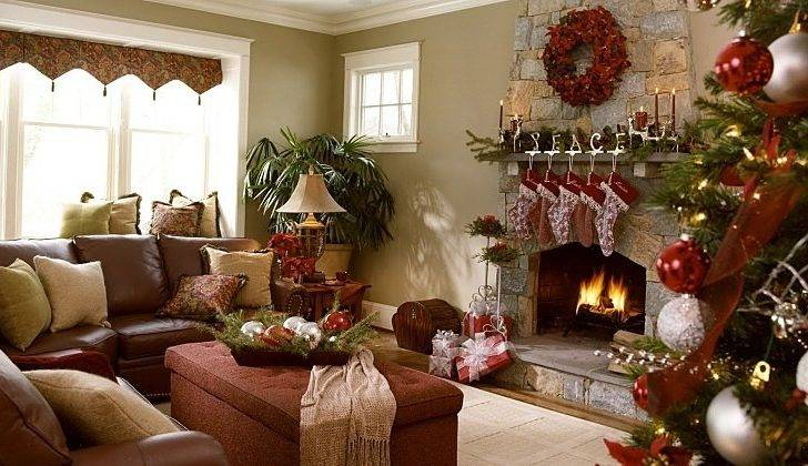 Indoor Christmas Decoration Gorgeous Garden Inspired