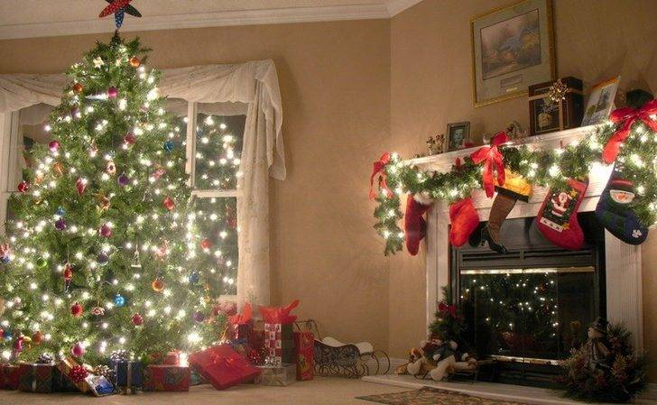 Indoor Christmas Decorations Home Decor Ideas Tree