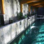 Indoor Coolest Swimming Pool Ideas Waterfall