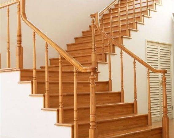 Indoor Solid Wood Staircase Designs Iso