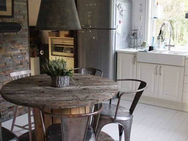 Industrial Chic Kitchens Rustic Crafts Decor