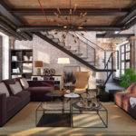 Industrial Living Room Design Ideas