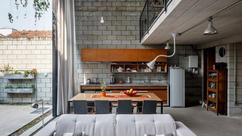 Industrial Style Kitchen Interior Design Ideas