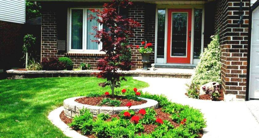 Inexpensive Landscaping Ideas Small Front