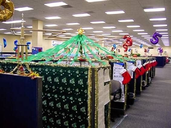 Innovative Office Christmas Decorating Themes Yvotube