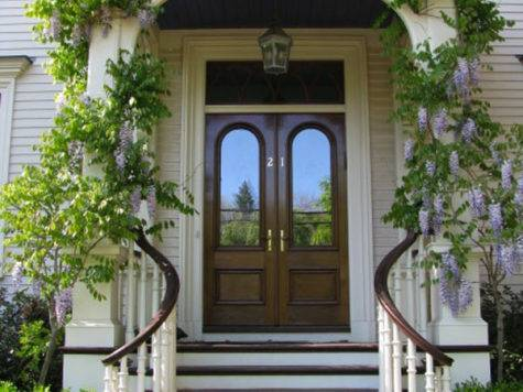 Inspiring Front Door Designs Hinting Towards Happy