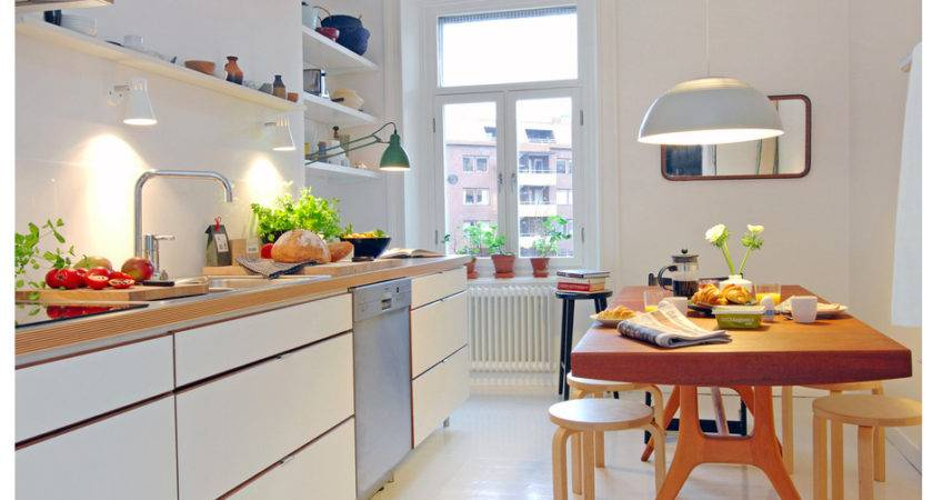 Inspiring White Scandinavian Kitchen Designs