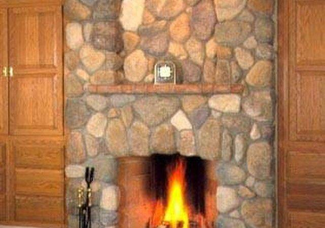 Install River Rock Fireplace Surround Hunker