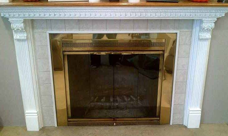 Insulated Magnetic Decorative Fireplace Cover