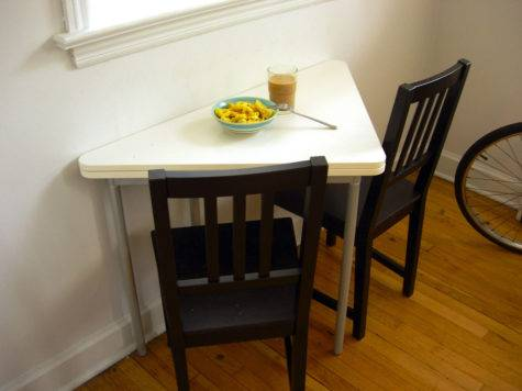 Interesting Folding Tables Small Spaces Interior