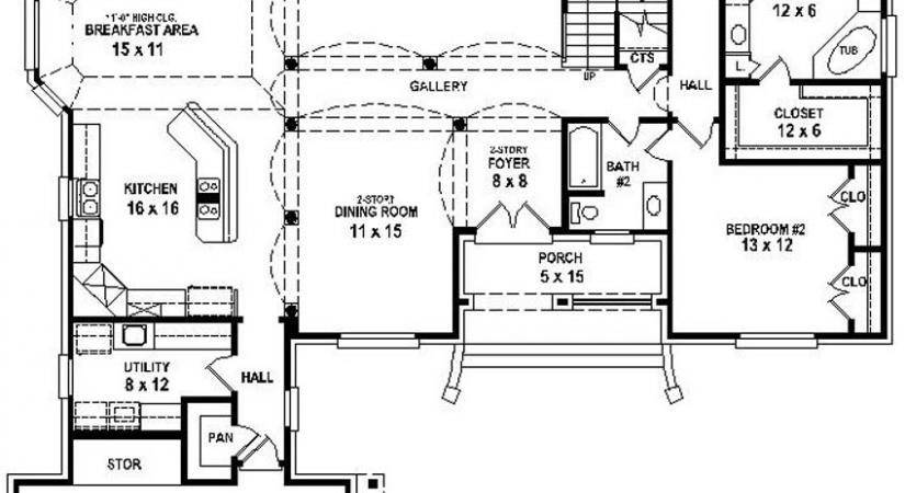Interesting House Plans Formal Dining Room Photos