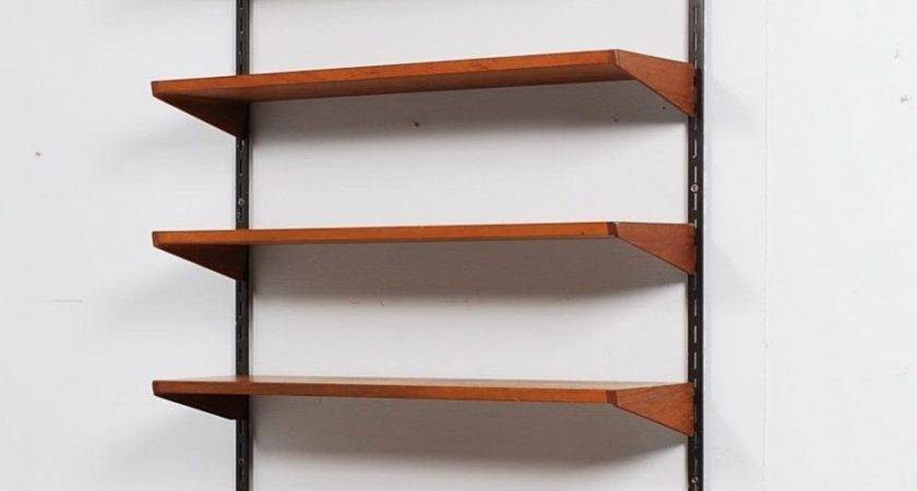 Interesting Unusual Wall Shelves Unique Black Metal