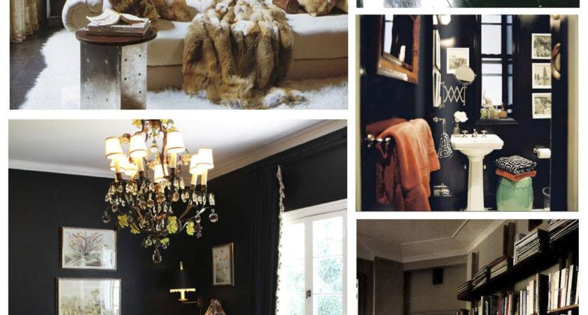 Interior Color Inspirations Bold Dramatic Statement