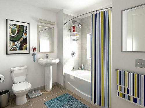 Interior Design Bathroom Small