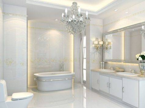 Interior Design Bathrooms Neoclassical