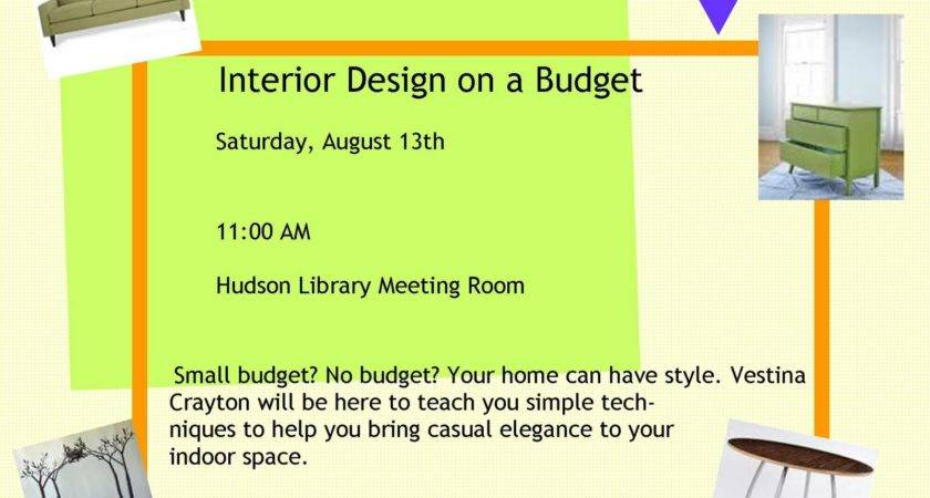 Interior Design Budget Saturday August