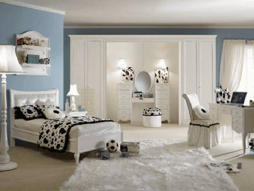 Interior Design Ideas Girls Bedroom Furniture Paint