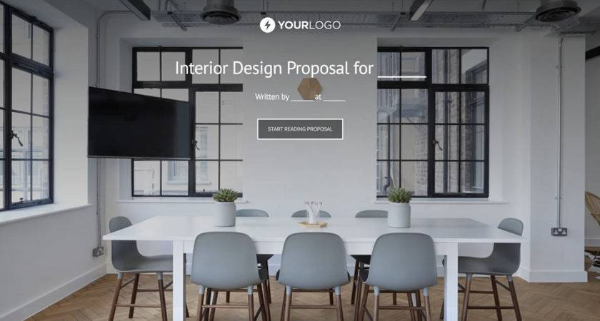 Interior Design Proposal Template Better Proposals