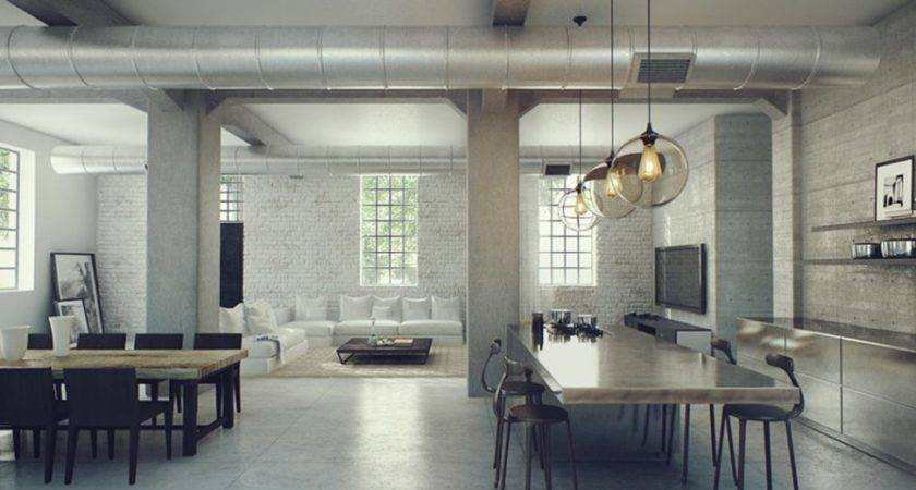 Interior Designs Fantastic Industrial Design