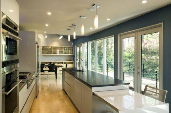 Interior Designs Long Narrow Kitchens