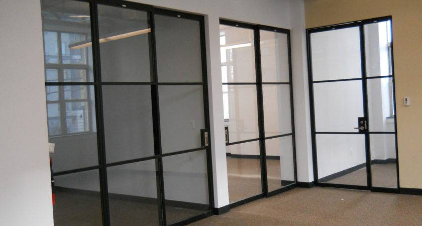 Interior Glass Partitions Creating New Transparent