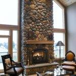 Interior Stone Fireplace Designs