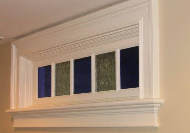 Interior Wall Transom Between Rooms