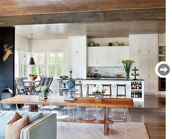 Interiors Modern Rustic Home Style