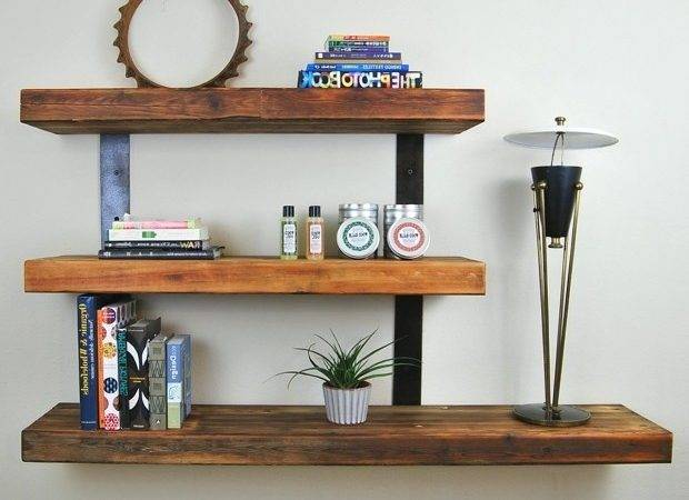 Invisible Shelving System Ideas