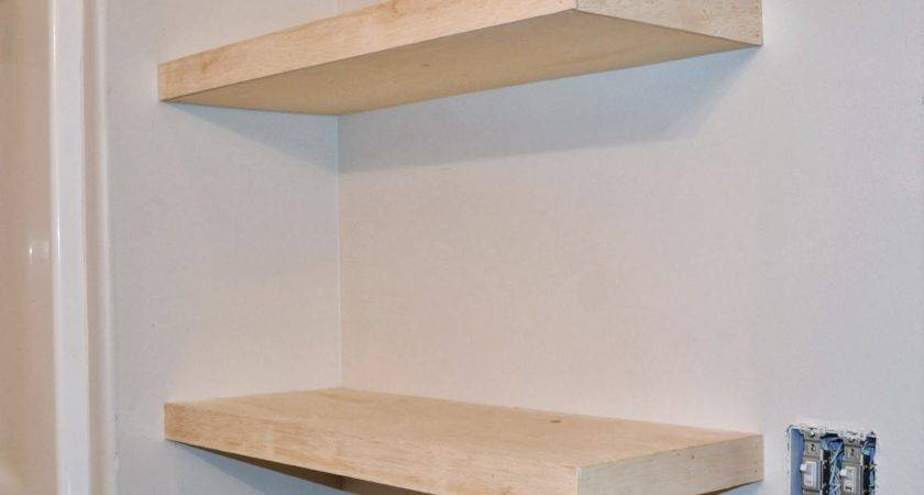 Invisible Wall Brackets Shelves