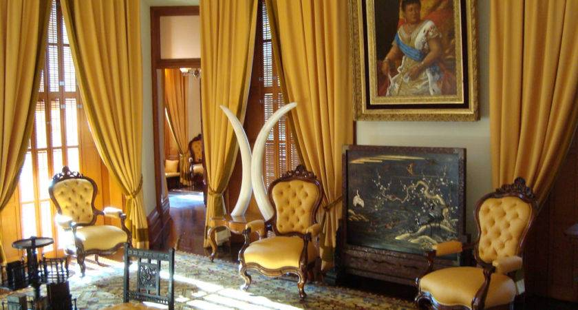 Iolani Palace Yellow Room Spanish Dilettante Flickr