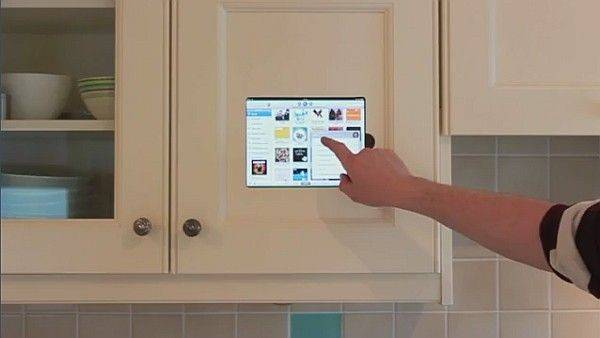 Ipad Mounted Kitchen Cabinet Smart Not
