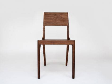 Isometric Chair Modern Solid Wood Kalon Studios
