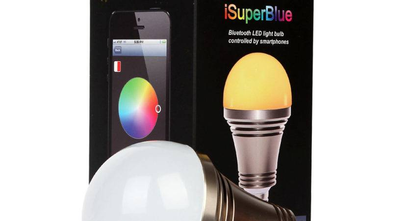 Isuper Iphone Android Phone Bluetooth Controlled Color