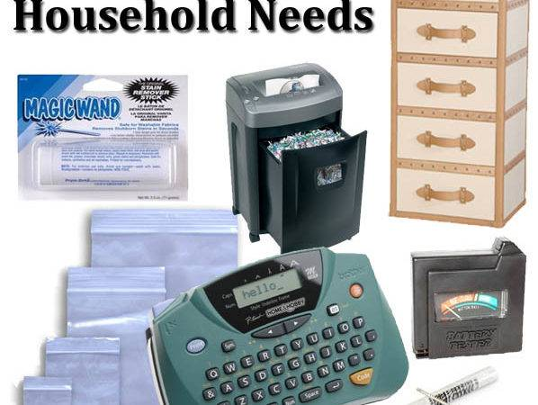 Items Every Household Needs