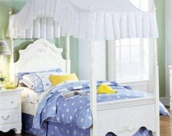 Items Similar Solid White Bed Canopy Fabric