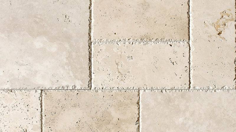 Ivory Unfilled Chiselled Versailles Pattern