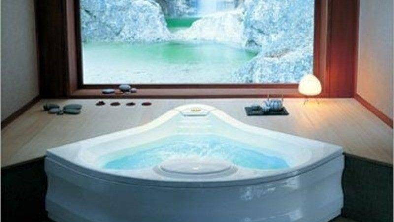 Jacuzzi Fiore Whirlpool Bath Removable Skirt