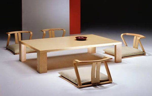 Japanese Dining Room Furniture Minimalist