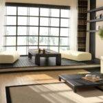 Japanese Living Room Decor Modern House