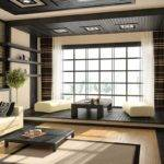 Japanese Living Rooms White Sofa Home Interior