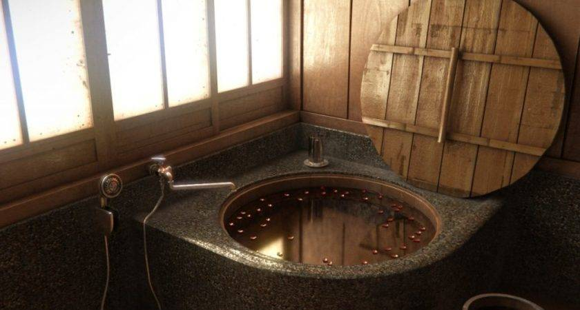 Japanese Style Bathroom Designs Theydesign